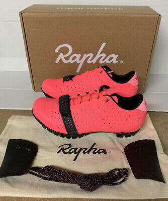 Rapha Explore Cycling Shoes High-Vis Pink Size 3 UK 36 EU Brand New No Box • 225£