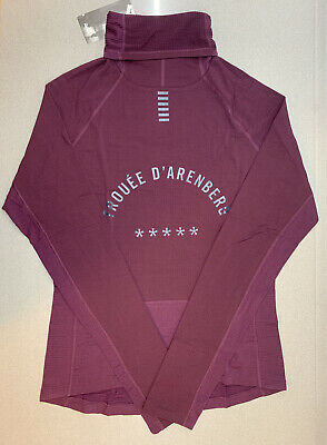 Rapha Pro Team Thermal Base Layer Long Sleeve Plum Medium Brand New With Tag • 85£
