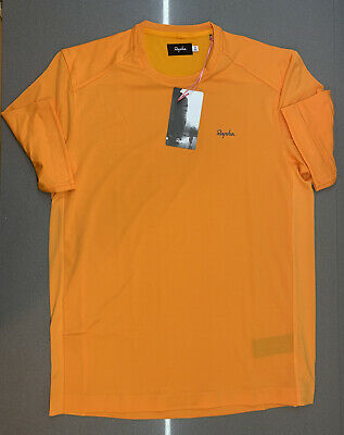 Rapha Men's Technical T-Shirt Dark Yellow Size Large Brand New With Tag • 58£