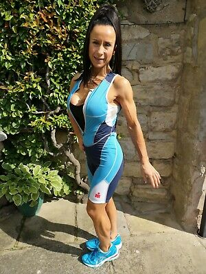 # BNWT ~ Ironman VO2 Max Triathlon Tri Skin Suit ~ Unisex Small With Faulty Zip  • 19.99£