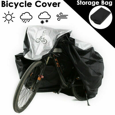 Bicycle Cover For 1, 2, 3x Bikes Oxford Heavy Duty Outdoor Rain Dust Waterproof • 9.99£