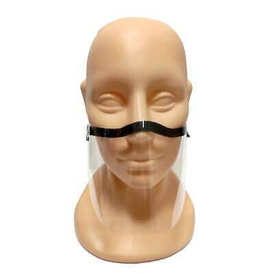 MINI Half Face Shield Viser Mask Nose And Mouth Protection Adjustable • 3.99£