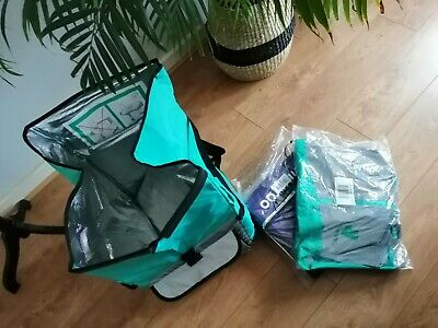 Full Deliveroo Kit: Large Thermal Backpack Small Thermal Bag + M Cycling Jacket  • 12.50£
