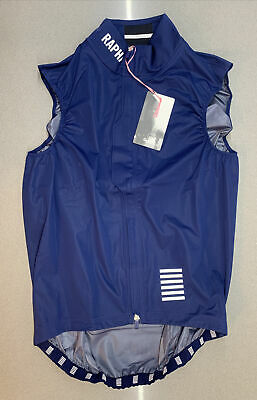 Rapha Pro Team Lightweight Rain Gilet Navy Size Large Brand New With Tag • 124£
