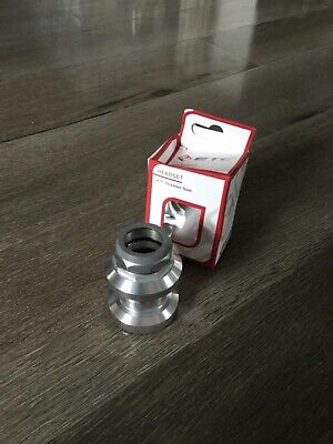 ETC Bicycle Bike 1  Alloy Threaded Headset 22.2 X 30 X 27mm Silver  • 11.99£