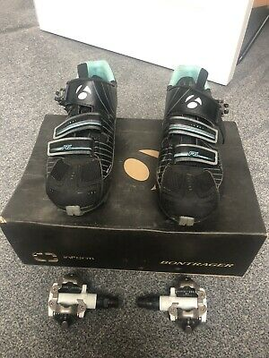 Bontrager Cycling Shoes With Shimano Pedal • 3£