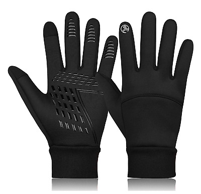 Mens Winter Warm Windproof Waterproof Anti-slip Thermal Touch Screen Ski Gloves  • 9.99£