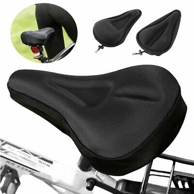 Comfort Padded Road Bike Seat Cover Cushion Silicone 3d Gel Exercise Saddle Pad • 5.99£