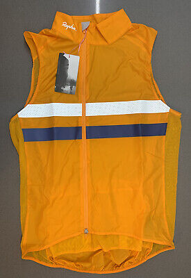 Rapha Brevet Gilet With Pocket Dark Yellow Size Medium Brand New With Tag • 115£