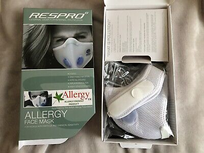 Brand New Sealed Respro Allergy Mask White Size Large  • 29.95£