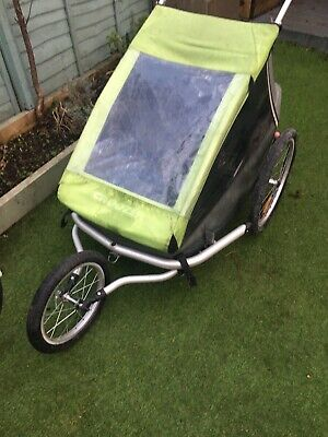 Croozer Kid For 2 (Bike Trailer / Buggy / Jogger) • 170£