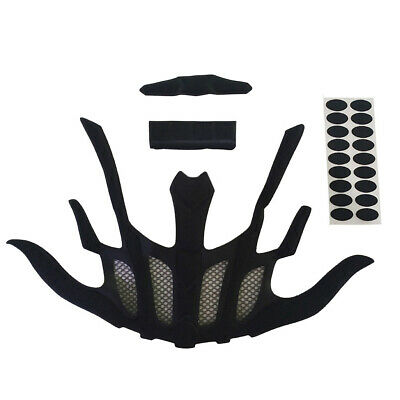 Bicycle Helmet Lining Foam Liner Cushions Kit Aftermarket Hot Sale New • 4.46£