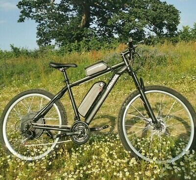 Electric Mountain Ebike 500w, 10Ah Lithium Battery, 26mph! CATHODE Made In UK • 885£