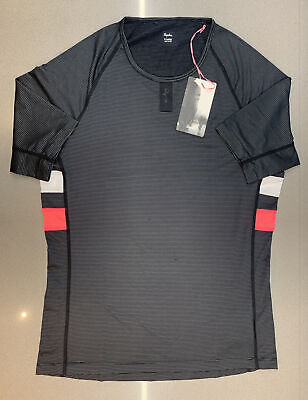 Rapha Brevet Base Layer Short Sleeve Black Size XX Large Brand New With Tag • 64.85£