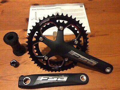 FSA Omega Crankset 46-36 Chainset, With MegaExo Bottom Bottom, New • 72.50£