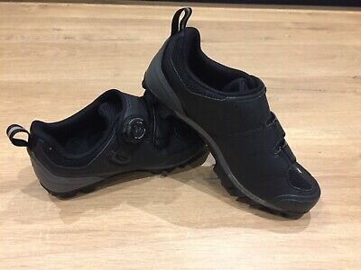 Specialized Women's Motodiva Mountain Bike Size 5.5 UK Black Cycling Shoes • 34.99£