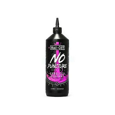 Muc Off No Puncture Hassle Tubeless Bike Sealant Refill Bottle - 1L • 22£