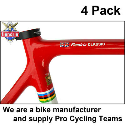 4x Personalised Frame Name Road Cycle Cycling Bike Frame Stickers / Decals • 7.99£