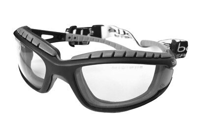 Bolle Tracker MTB Specs Safety Glasses Clear Lens FREE BAG Anti Fog Scratch • 11.99£