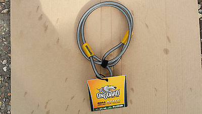 New Onguard Akita Lock Extender Secure Anti Theft Coil Cable Bike Cycle Security • 9.99£