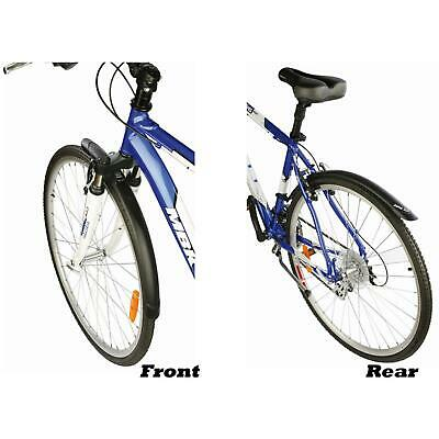 Zefal Trail City Mudguard Set Front And Rear Mudguard For Hybrid & City Bikes • 13.11£