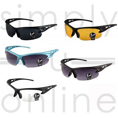Cycling Biking Riding Outdoor Sports UV Protective Goggles Glasses… • 4.89£