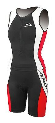 Aropec Ladies Agile Triathlon Top / Shorts Lycra Suit. Swimming, Running,Cycling • 19.99£