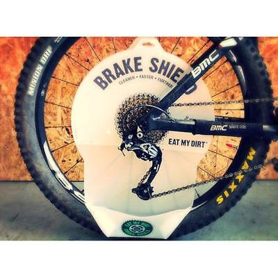 Brake Shield Bike Cassette And Chain Cleaning Brake Disc Protector • 14.99£