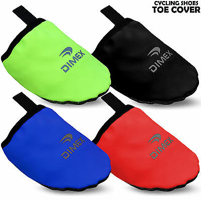 Cycling Toe Cover Shoe Outer Cover Protector Softshell Windproof Though Sole • 4.24£