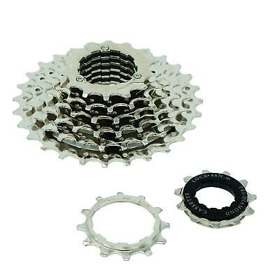 Bicycle 8 Speed Index Cassette 11-28T Sprocket MTB And Hybrid • 12.99£