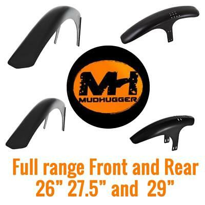 Mudhugger MTB Mudguard Mountain Bike Front Rear All Sizes 26  27.5  29  • 23£