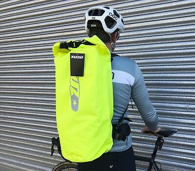 New Cycling  Roll Top Waterproof Backpack Rucksack Dry Bag Sack Yellow 40 Litre • 26.95£