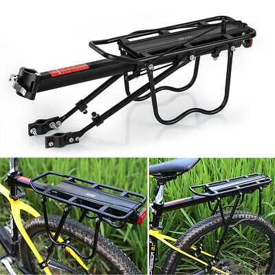 OGORI Alloy Rear Bicycle Pannier Rack Carrier Bag Luggage Cycle Mountain Bike • 14.99£