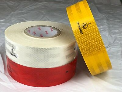 3M Diamond Grade Reflective Tape High Quality Self-Adhesive Waterproof • 6.29£