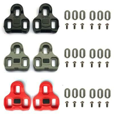 Look Keo Compatible Replacement Pedal Cleat Sets - Road & Indoor Cycling Cleats • 8.99£