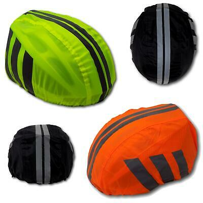 High Visibility Yellow Hi-Vis Reflective Waterproof Bike Bicycle Helmet Cover • 3.50£