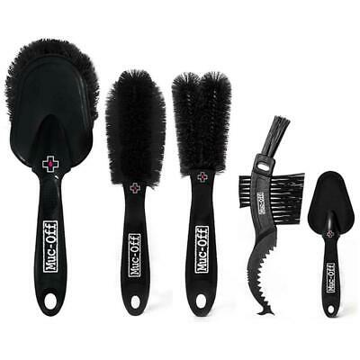 Muc Off Premium Bicycle Cleaning Brush Kit  - 5 X Brushes • 22.50£