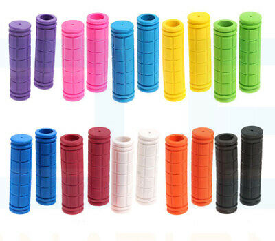 Soft BMX MTB Mountain Bike Bicycle Cycling Handle Bar Grips Universal Rubber UK • 3.29£