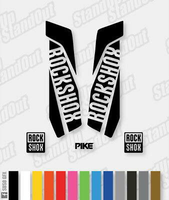 RockShox PIKE 2015 2016 Style Decals Stickers - Custom / Fluorescent Colours • 5£
