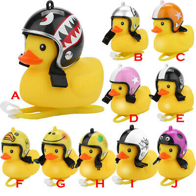 Mini Light Shining Rubber Duck Bell Bike Bicycle Bells&Cartoon Motocycle Handleb • 3.59£