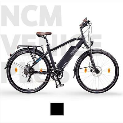 NCM Venice Plus 28  Trekking E-Bike, 250W 48V 16Ah 768Wh Battery, Black • 1,499£