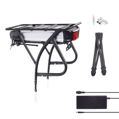 E-Bike 36V 18Ah 648Wh Battery Kit, Bicycle Carrier Conversion Kit Incl. Charger • 249.29£