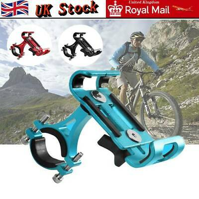 Bike Phone Holder Stand Aluminum Alloy Cycling MTB Bicycle  GPS Rack Holder • 8.99£