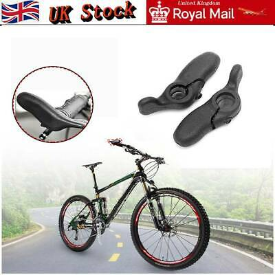 Mountain Bike Bar Ends Rubber Road Bike Cycling Grip Auxiliary Handlebar Kits • 8.49£