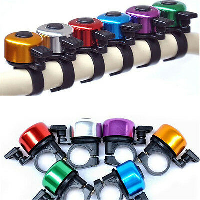 Clear & Loud Ping Bell Bike Bicycle Handle Bar Ring Cycle Push Sports Horn  PT • 4.15£