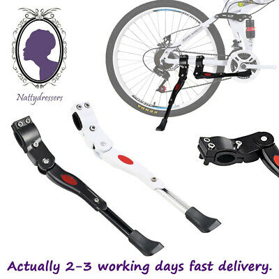 Heavy Duty Adjustable Mountain Bike Bicycle Cycle Prop Side Rear Kick Stand UK • 9.99£
