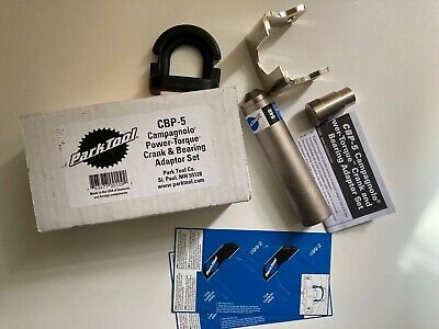 Park Tool CBP-5 Campagnolo Power-Torque Crank And Bearing Adaptor Set • 30£