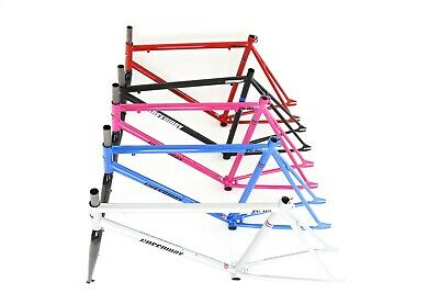 Fixed Gear Bike Bicycle Steel Frame And Fork Sets, Fixie Single Speed Frameset • 59.99£