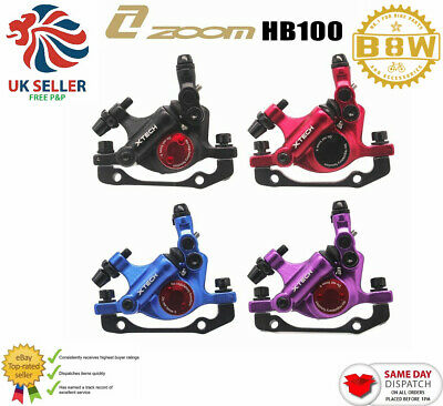 ZOOM XTECH HB100 MTB Disc Brake Calipers For Xiaomi M365 MI Electric Scooter • 36.69£