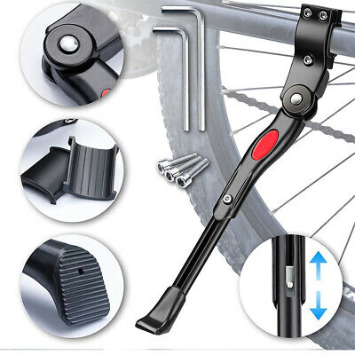 Heavy Duty Adjustable Mountain Bike Bicycle Cycle Prop Side Rear Kick Stand UK • 8.99£